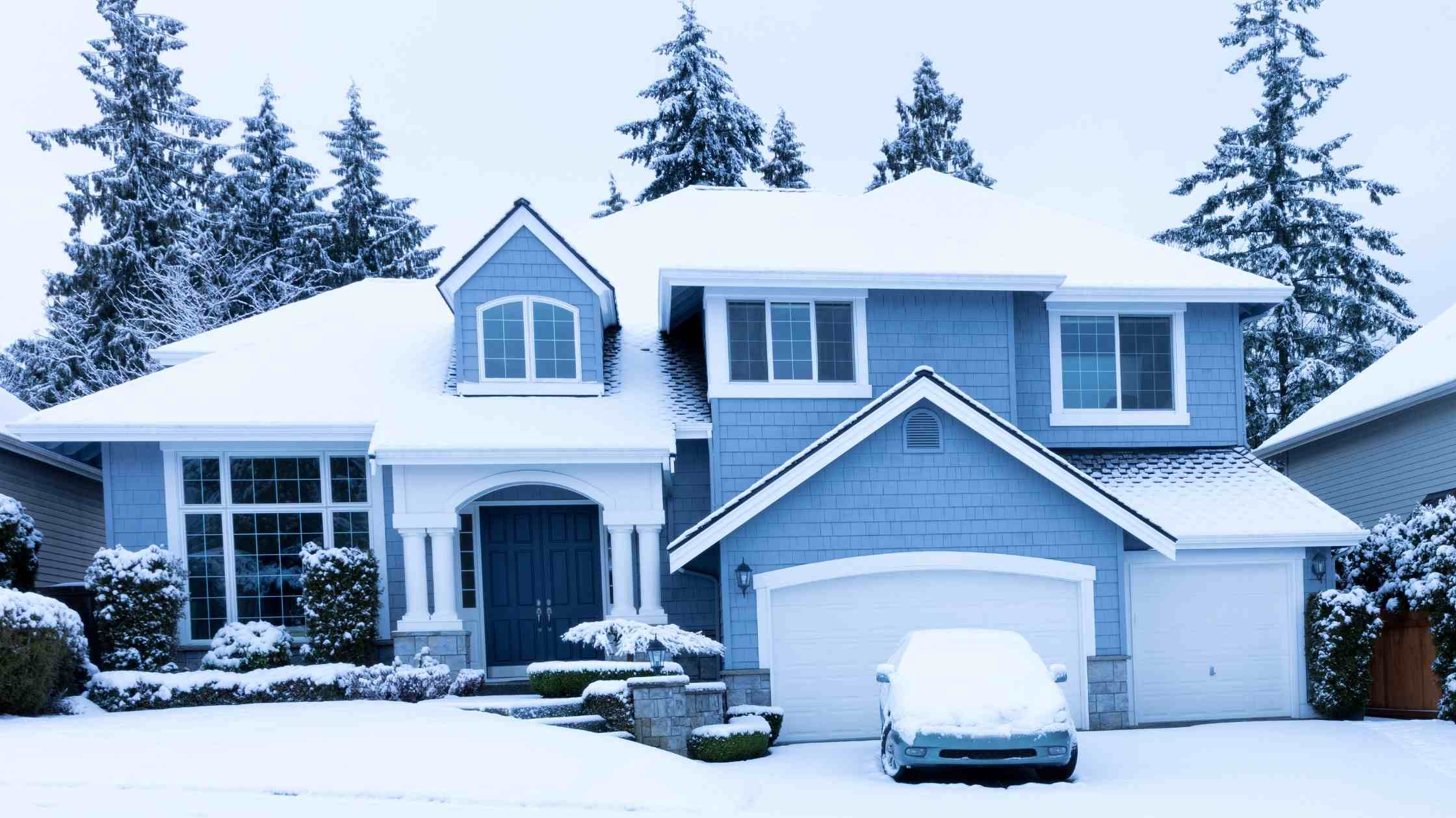 Scott Energy Winter in New England Scene